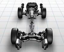 Sistema AWD Simétrico de Subaru