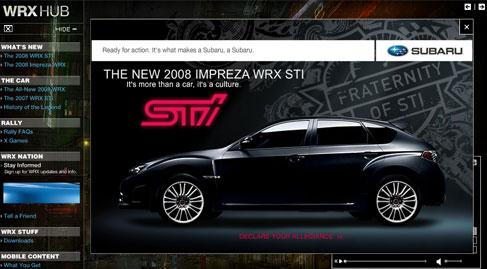 Web Impreza WRX STI