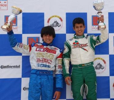 Carlos Sainz junior, a la izquierda