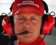 Michael Schumacher, padrino de Carlitos Sainz