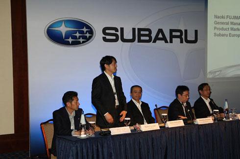 Rueda de Prensa, Subaru Forester, Tesalónica