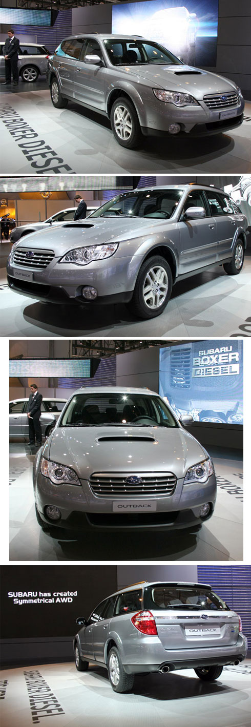 2008 Ginebra, Subaru Outback