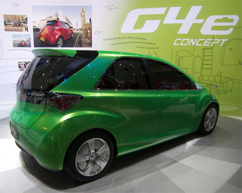 Salón de Ginebra, G4e Concept