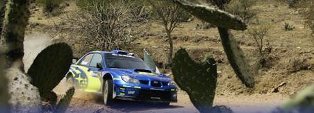 Rally de México, Subaru