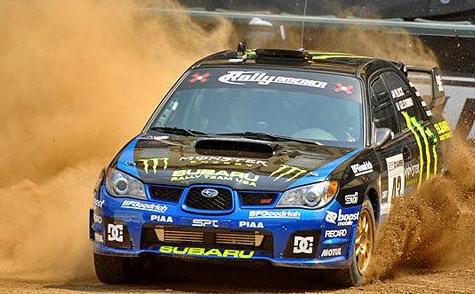 Ken Block, Rallye Olympus