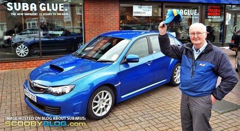 El conductor más anciano de Subaru