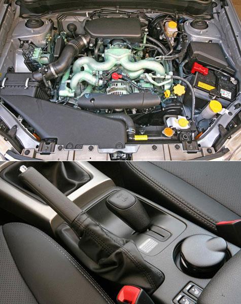 Marchas, interior de Motor, nuevo Subaru Forester