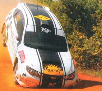 Diego Domínguez, Subaru Impreza 2008