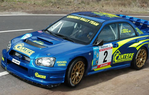 Rallye de Navarra, Subaru Impreza