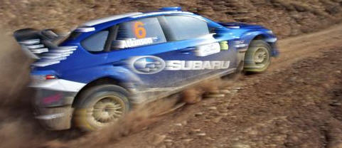 Lapworth, Subaru Impreza WRC 08