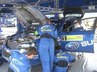 Mecánicos Subaru, Petter Solberg