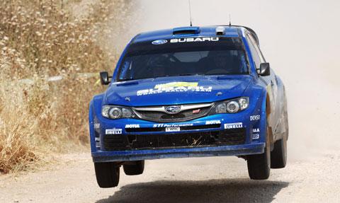 Final Rally Acrópolis, Impreza WRC 2008