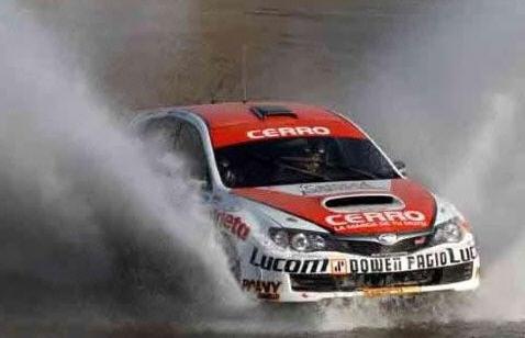 Carlos Menzi y Subaru Impreza en Argentina