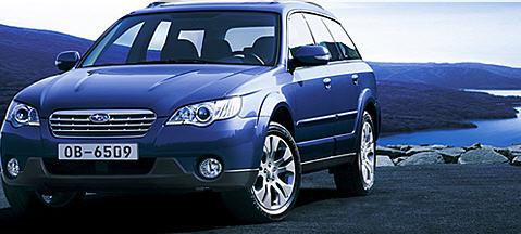 Nueva Zelanda, Subaru Legacy y Outback
