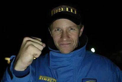 Petter Solberg profesor de pilotaje