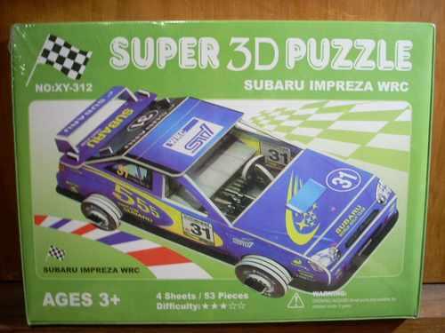 Puzzle Subaru