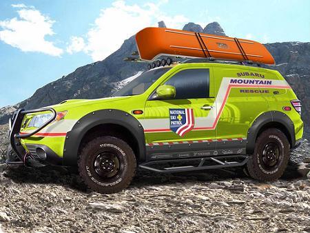 Subaru Forester Mountain Rescue