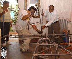 construcción del avión