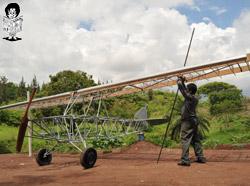 construcción del avión 3