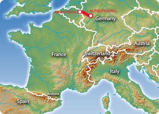 mapa etapa 2 nurburgring