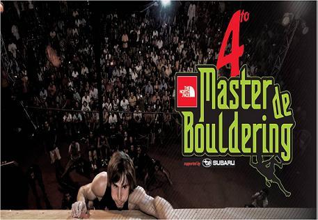 Cuarto Máster of bouldering