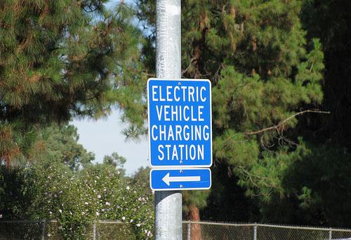 Estación de carga eléctrica