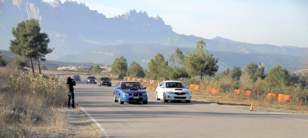 Subaru Impreza WRX STi en el circuito Can Padró