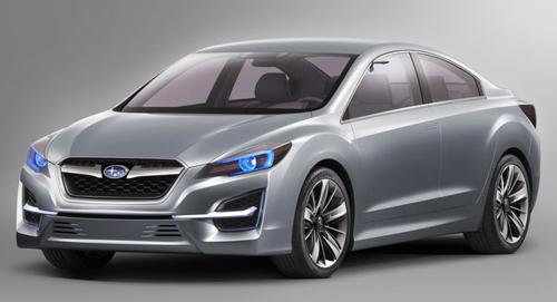 Subaru RWD Coupe Concept