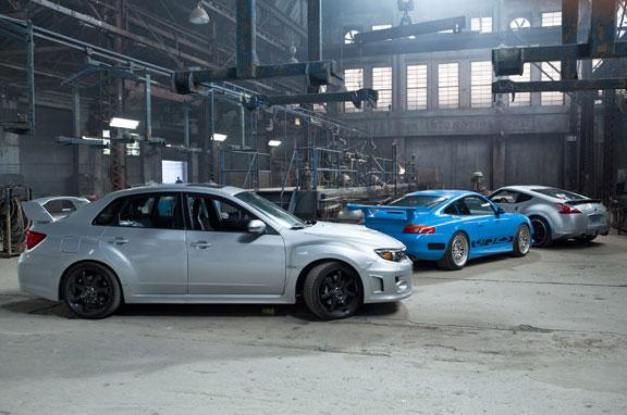 Subaru STI en Fast Five