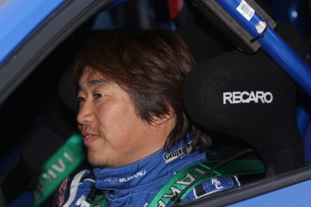 Toshi Arai, piloto Subaru en el IRC