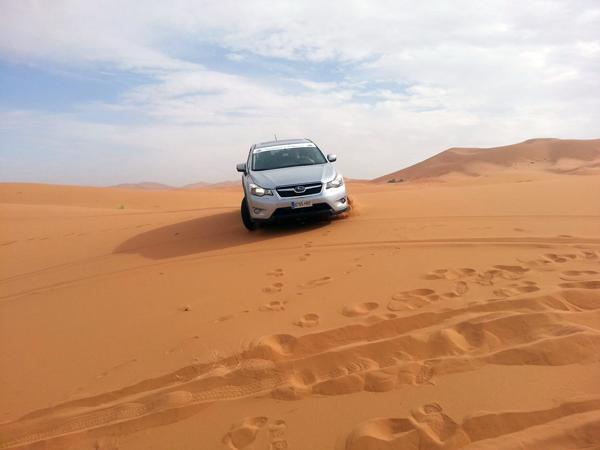 Subaru - Conducción en dunas
