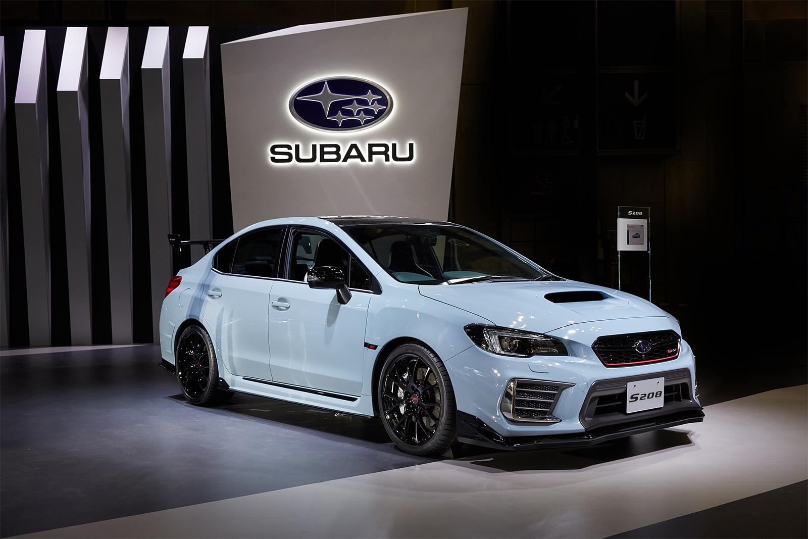 Tokio 2017_Subaru WRX STI S208