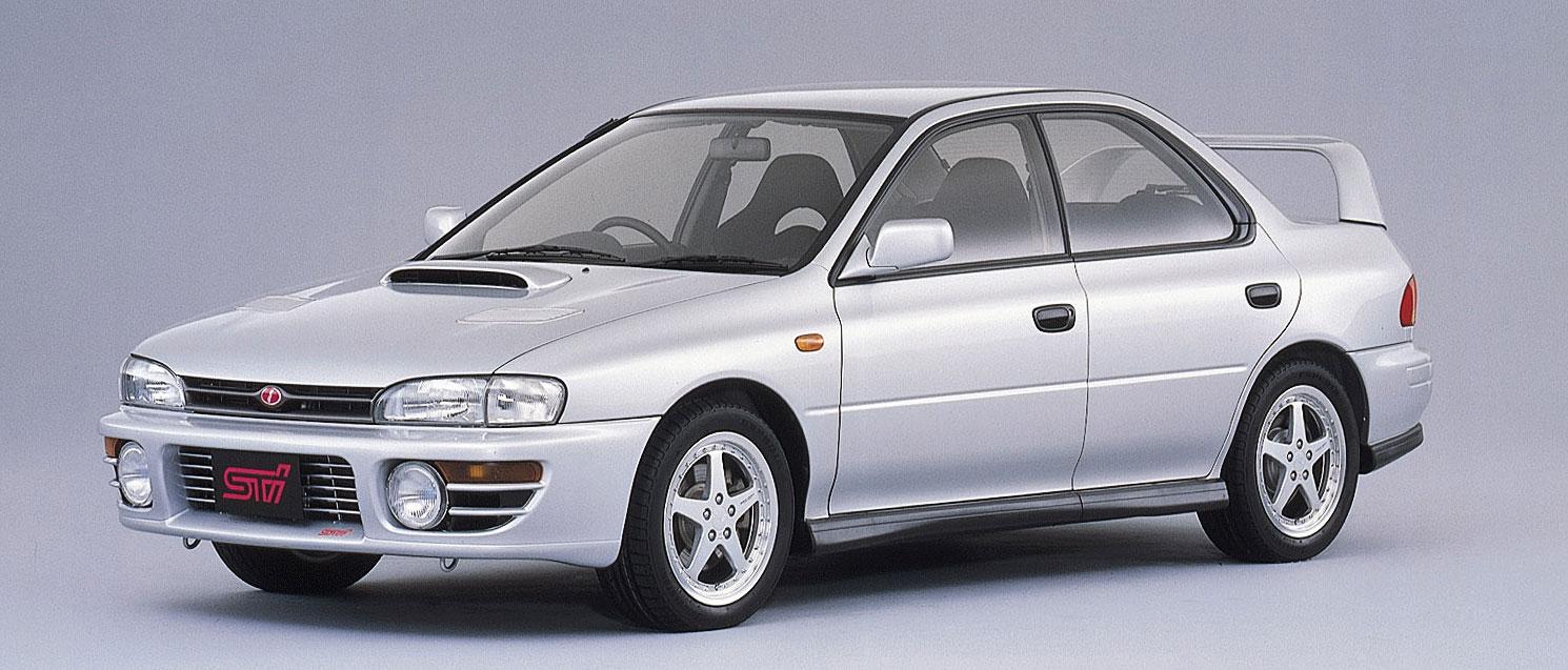 Subaru Impreza STI de 1994