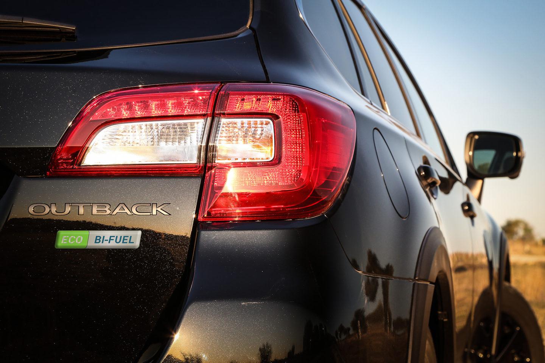 Subaru Outback Bi-fuel