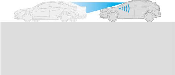 Sistema de seguridad EyeSight - Función de aviso de avance de vehículo delantero