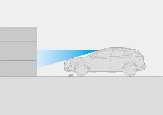 Sistema EyeSight - Función de control del acelerador