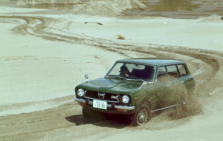 Subaru Leone, pionero en tracción total simétrica