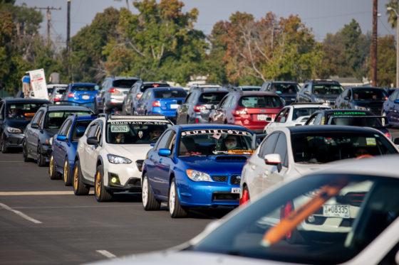 Concentración Subaru