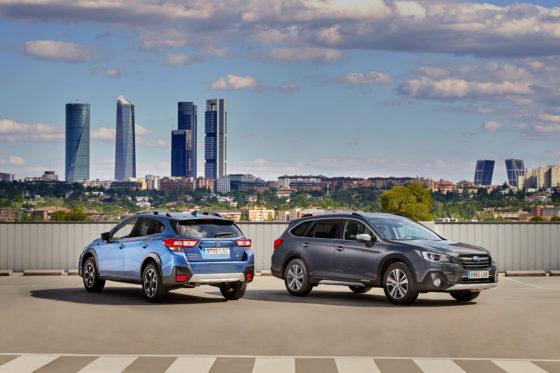 Seguridad: Gama Subaru eco GLP