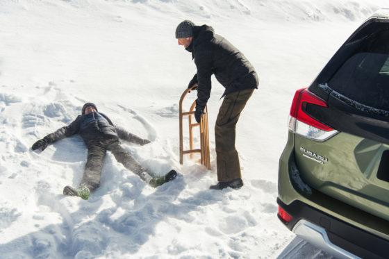 Invierno Subaru Forester