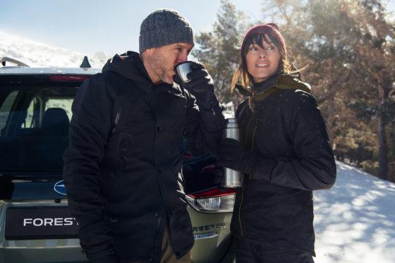Conducción en Invierno Forester ecoHybrid