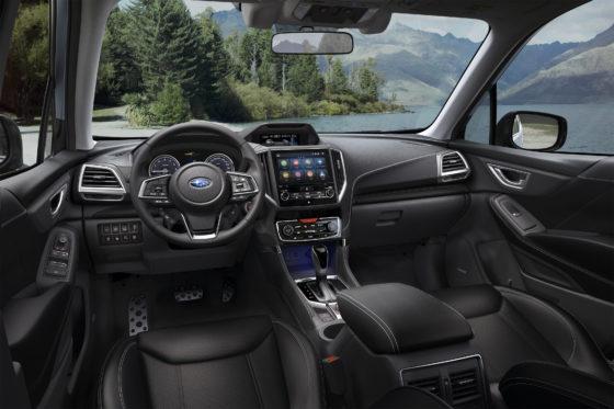 Interior Subaru Forester ecoHybrid