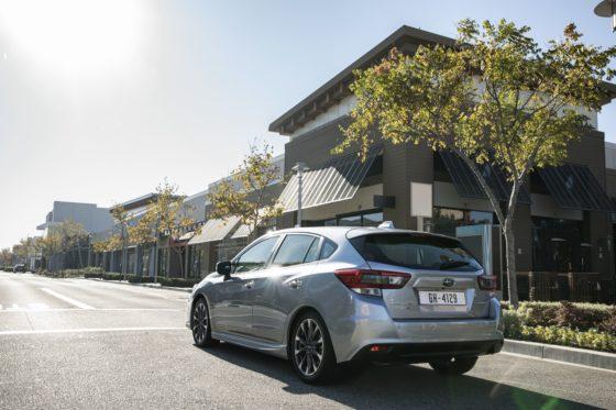 Subaru Impreza EcoHybrid, máxima seguridad de serie