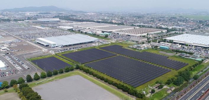 Sostenibilidad Subaru: Energía Fotovoltaica fábrica Oizumi