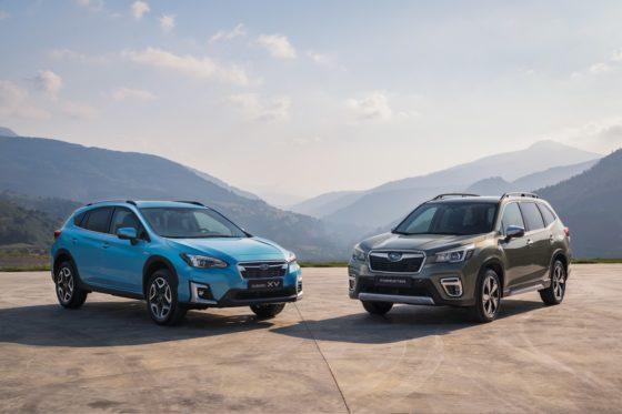 Subaru ecoHybrid - Sostenibilidad