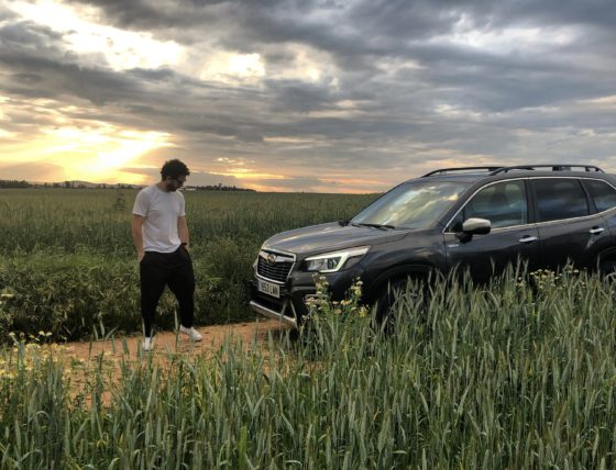 Forester Hybrid: Javier Medina