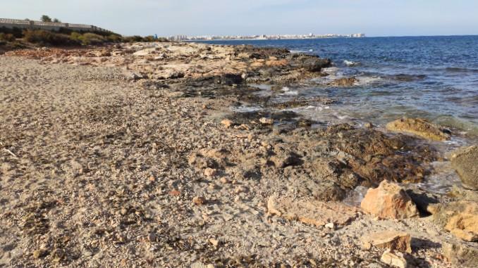 Destino Subaru: Playa Canina del Rocío en Torrevieja