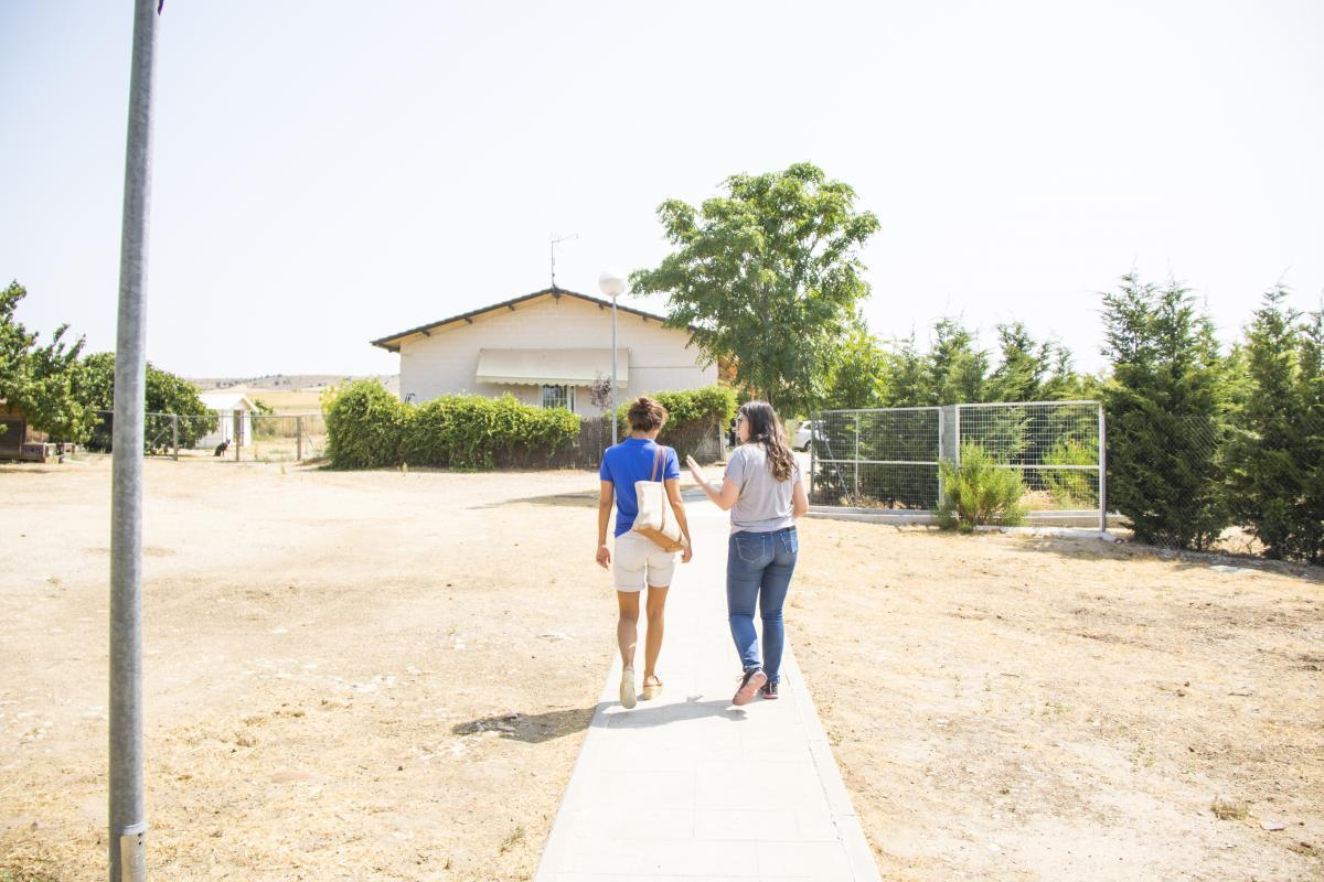 Laura Madrueño visita ANAA